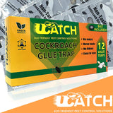 Ucatch ™XRoach Cockroach Glue Trap (Bait included) 12 traps - ucatchstore