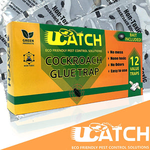 Photo of 21 cockroach traps
