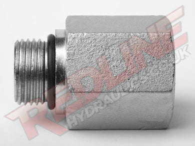 SAE MALE X SAE FIXED FEMALE EXTENDED HYDRAULIC ADAPTOR  ( REDLINE 37-6410 )
