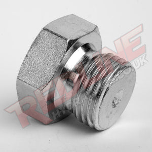 METRIC MALE PLUG HYDRAULIC ADAPTOR  ( REDLINE 60-6021 )