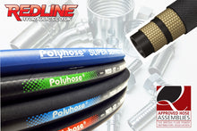 Load image into Gallery viewer, 2 WIRE ( 2SC ) HYDRAULIC HOSE LOOSE PER MTR PH258 ( REDLINE )