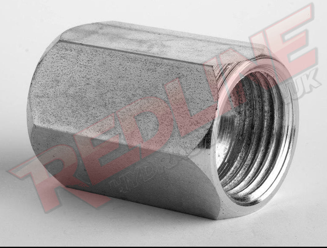 JIC FEMALE X BSP FEMALE TEST POINT ADAPTOR HYDRAULIC ADAPTOR  ( REDLINE 37-4150 )