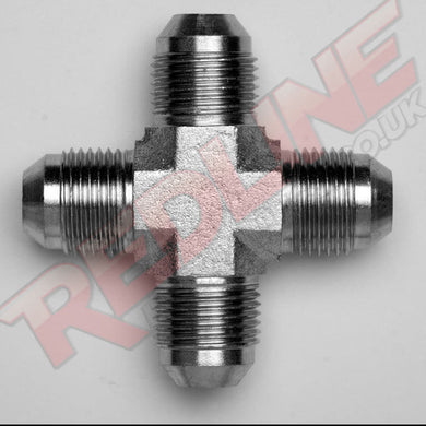 JIC MALE CROSS HYDRAULIC ADAPTOR  ( REDLINE 37-5000 )