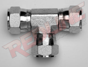 JIC SWIVEL FEMALE TEE ADAPTOR HYDRAULIC ADAPTOR  ( REDLINE 37-9080 )