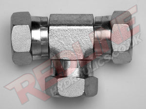 BSP FEMALE SWIVEL TEE ADAPTOR HYDRAULIC ADAPTOR  ( REDLINE 60-3004 )