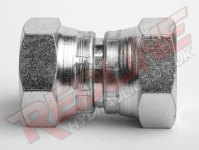 BSP FEMALE SWIVEL X BSP FEMALE SWIVEL ADAPTOR HYDRAULIC ADAPTOR  ( REDLINE 60-6008 )