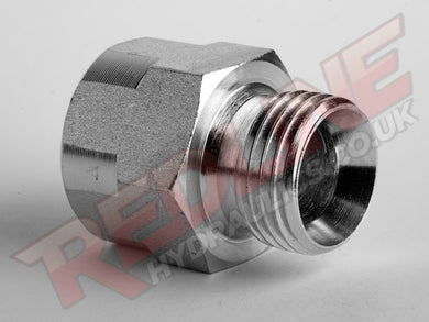 BSP MALE CONED X BSP FEMALE FIXED GAUGE ADAPTOR HYDRAULIC ADAPTOR  ( REDLINE 60-6023 )