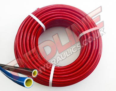 SEWER JETTING HOSE THERMOPLASTIC YELLOW PH305 ( REDLINE )