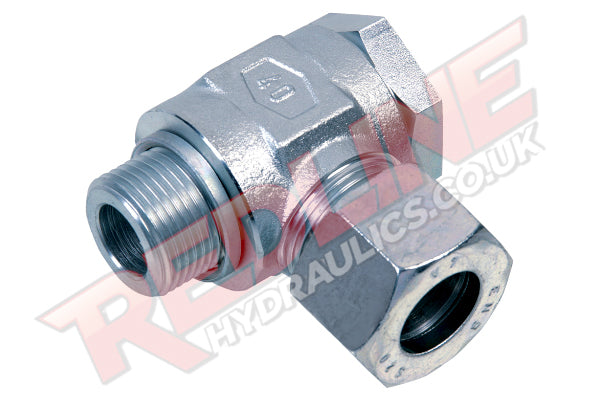 HYDRAULIC METRIC BANJO BSP MALE COMPRESSION FITTING DIN 2353 RSWD- ( REDLINE )