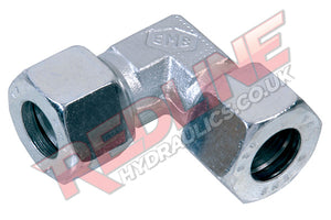 HYDRAULIC EQUAL ELBOW COMPRESSION DIN 2353 FITTING WV- ( REDLINE )