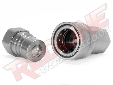 QUICK RELEASE COUPLING SET PROBE & CARRIER ISO A /  ISO 7241  ( REDLINE 8000/8001 )
