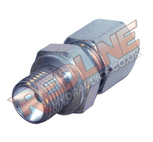 HYDRAULIC MALE STUD COUPLING FORM A BSP CONED DIN 2353 GEV- ( REDLINE )