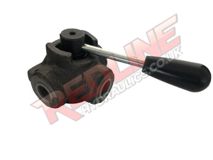 HYDRAULIC CAST IRON MANUAL DIVERTER VALVE HYDRAULIC ADAPTOR ( REDLINE D3V BSP )