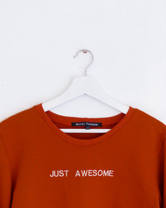 JUST AWESOME handmade sweater