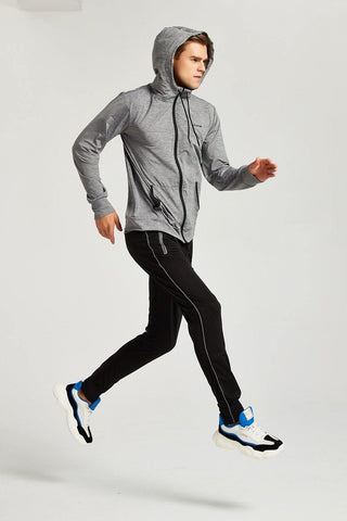 Long Sleeved Zip Hoodie - octivesports
