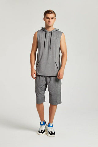 Sleeve Less Gym Hoodie - octivesports