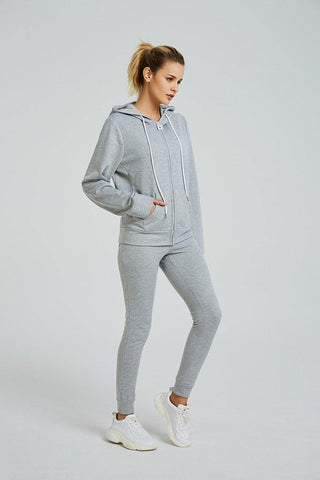 Long Sleeved Full Front Zip Hoodie - octivesports