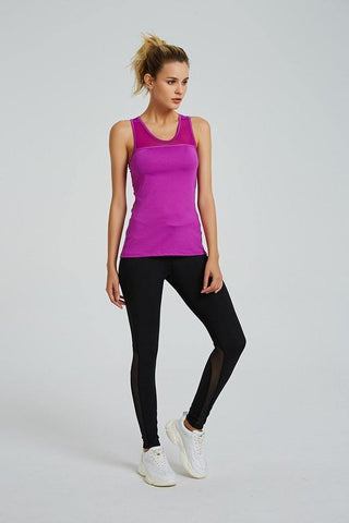 Racer Back Tank Top with Bra - octivesports