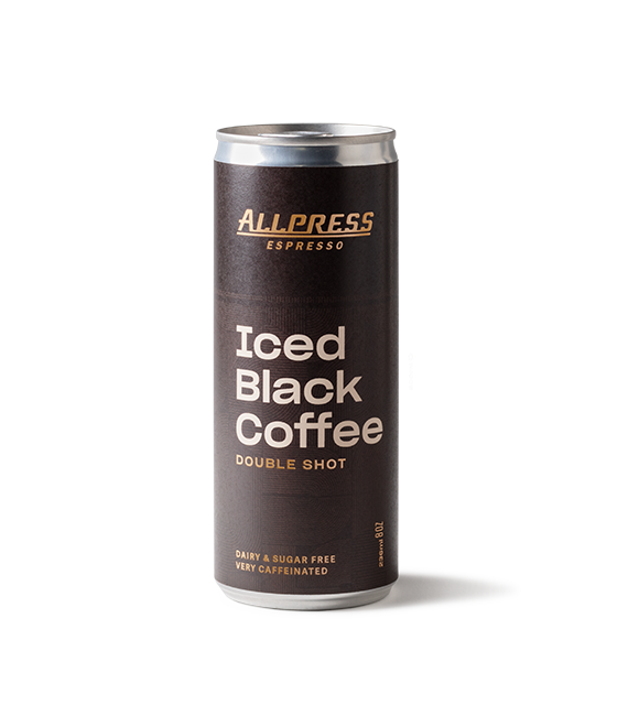 Allpress Iced Black Coffee - 24 Pack