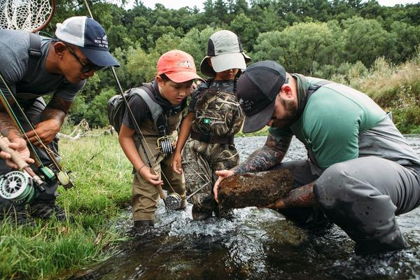 Pro Staff Stories - 3 Important Things to Teach Your Kids On Their First Fly Fishing Trip