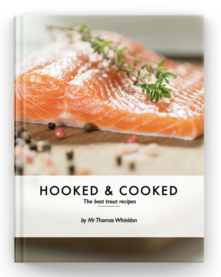 e-book Hooked & Cooked - Whieldon Fly Fishing