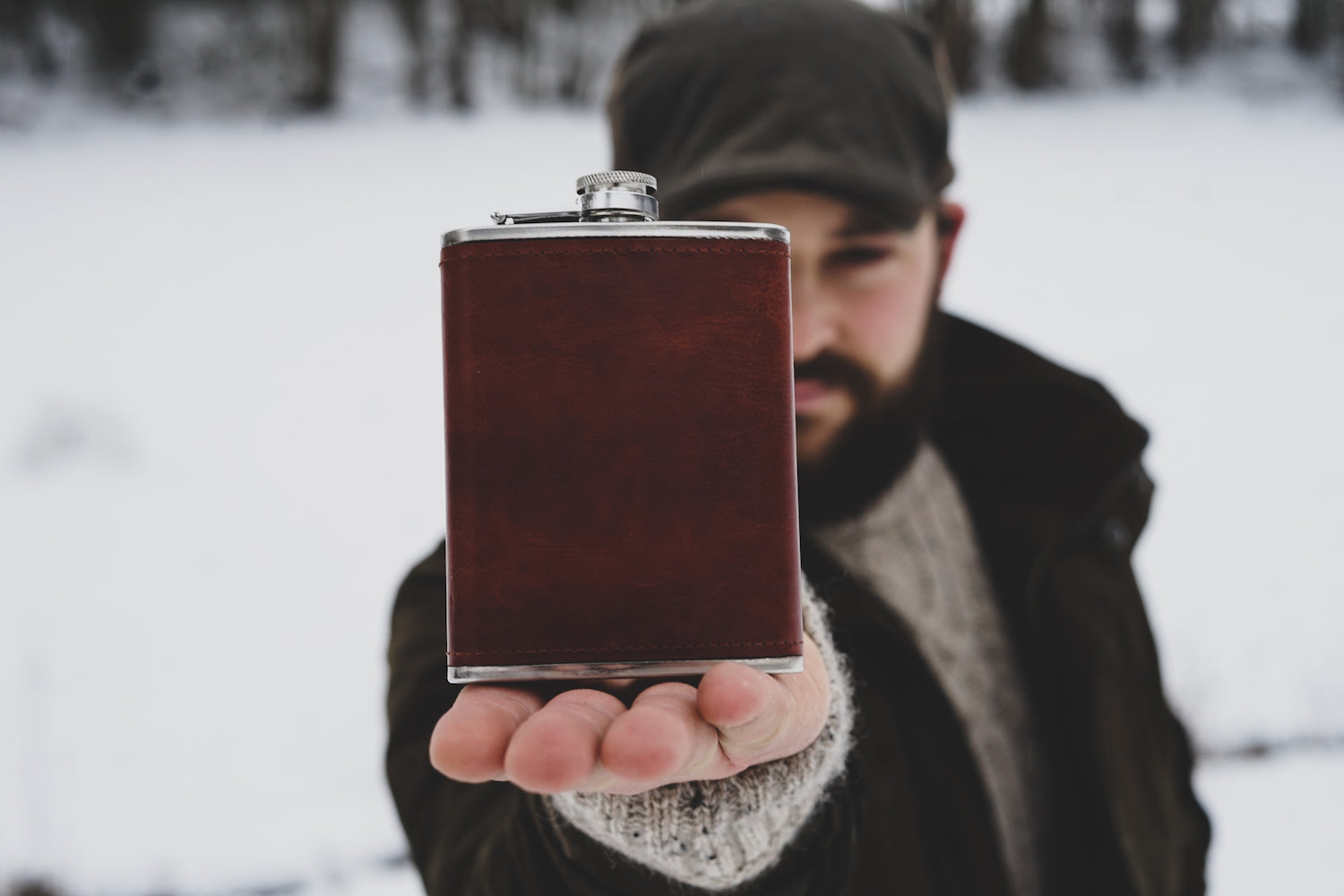 Personalised Hip flask - Whieldon Fly Fishing