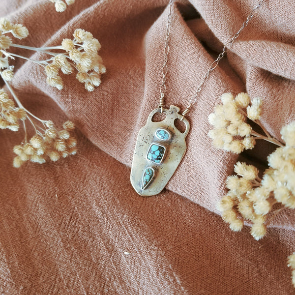 Amphora Necklace N°3 | Hubei Turquoise