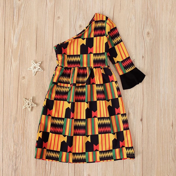 African Print Dress - The Childrens Firm