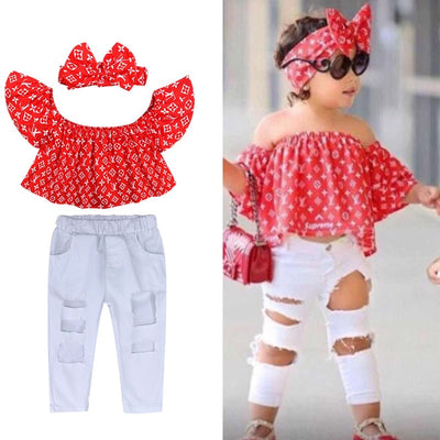 L V SUPREME Outfit Set - The Childrens Firm