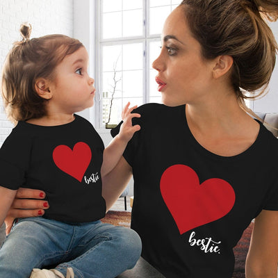 Mommy and Me Bestie Tees - The Childrens Firm