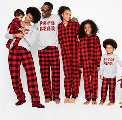 Holiday Plaid PJ Set - The Childrens Firm
