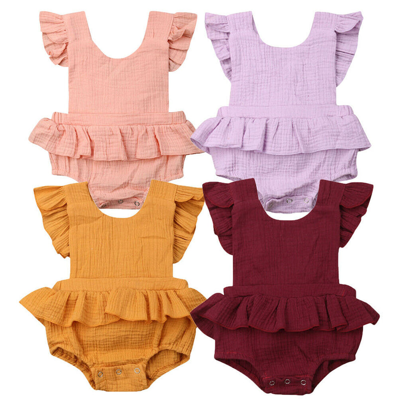 Skirted Romper - The Childrens Firm
