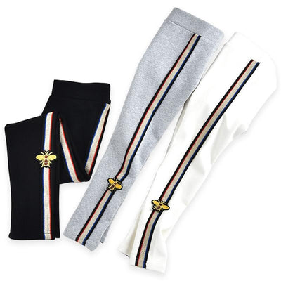 Desiginer Striped Joggers - The Childrens Firm