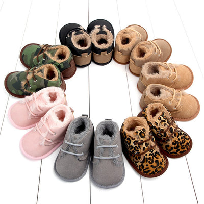 Cozy Newborn Booties - The Childrens Firm