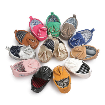 Fringe Baby Loafers - The Childrens Firm