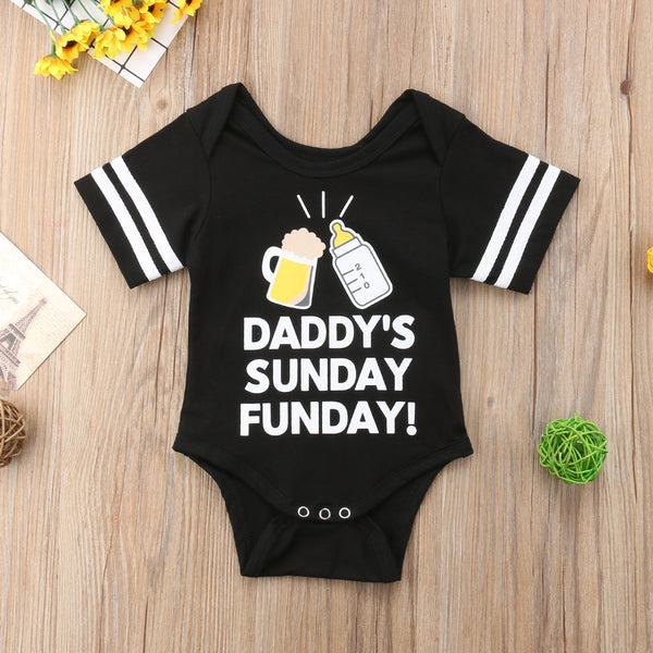 Daddy's Sunday Funday Onesie! - The Childrens Firm