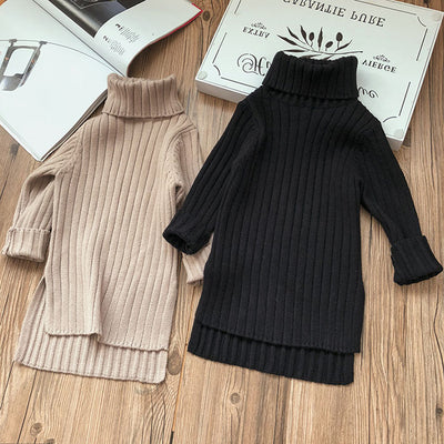 Turtle Neck Long Autumn Top - The Childrens Firm