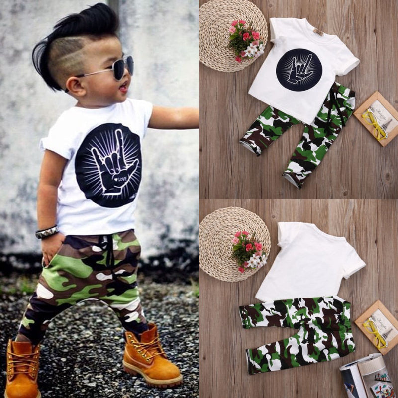 Rockin Camo Set - The Childrens Firm