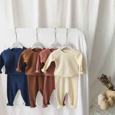 Ribbed Autumn 2Pc Set - The Childrens Firm