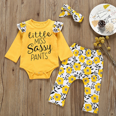 Little Miss Sassy Pants Outfit Set - The Childrens Firm
