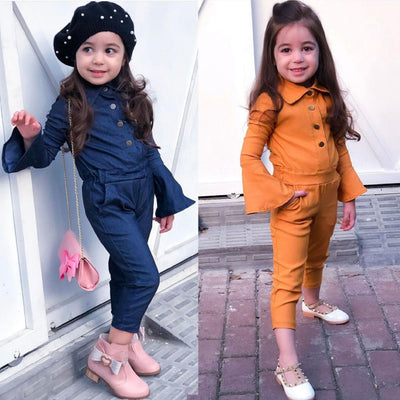 Flare sleeved Jumpsuit - The Childrens Firm