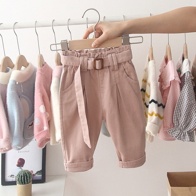 Baby Girls Chic Harem Bottoms - The Childrens Firm