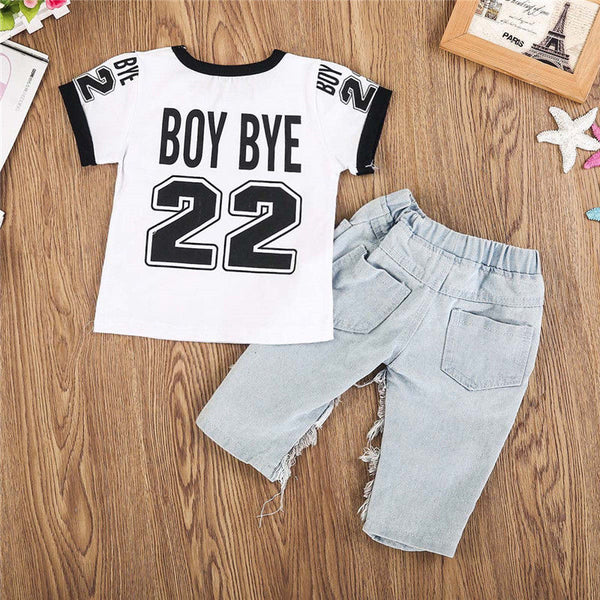 Boy Bye Outfit Set - The Childrens Firm