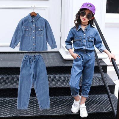 Girls Denim on Denim SET - The Childrens Firm