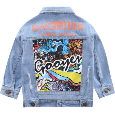 Denim Fashion Jean Jackets - The Childrens Firm
