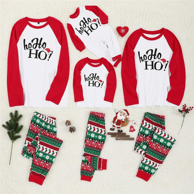 Ho Ho Ho Matching Family Pajamas - The Childrens Firm