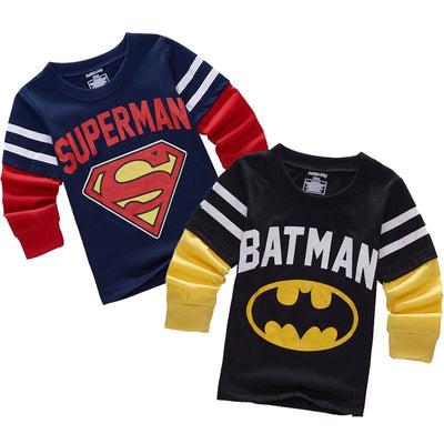 Superhero Longsleeve Tee - The Childrens Firm