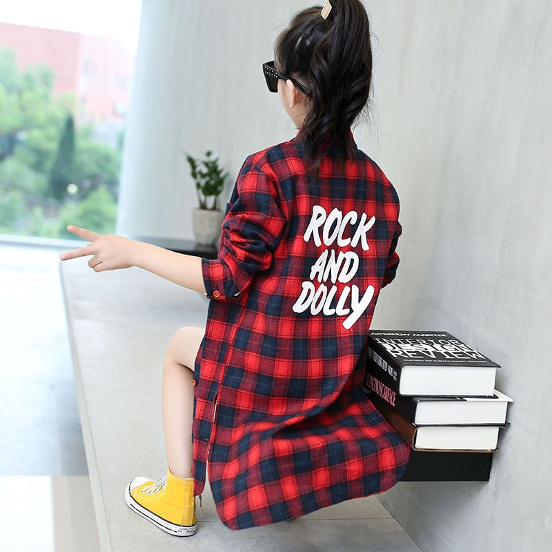 Rock & Dolly Flannel