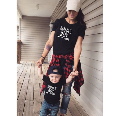 Mama's Boy Mommy & Son Tee - The Childrens Firm