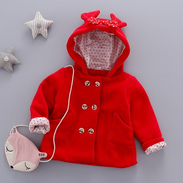 Minnie's Hooded Jacket - The Childrens Firm